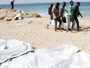 Tunus kıyılarında 6 göçmenin cesedi bulundu