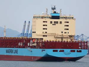 M/V Venta Maersk, Kuzey Buz Denizi'ndeki ilk yolculuğuna çıktı