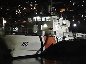 Alabora olan bottaki beş kişi Sahil Güvenlik tarafından kurtarıldı