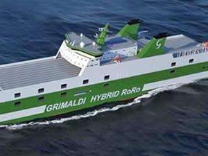 Kongsberg, dokuz adet Ro-Ro'nun hibrid sistemini üstlendi