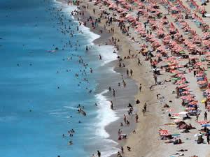 Güney Ege sahillerinde yoğunluk yaşanıyor