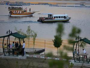 Demirözü Barajı, bayramda yoğun ilgi gördü