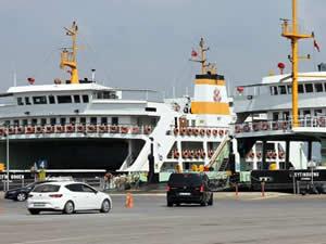 İDO, bayram dönüşlerinde 45 bin araç taşıdı