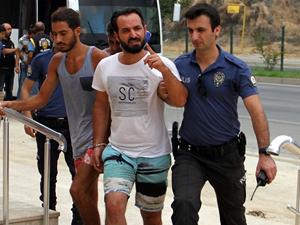 Alanya'daki tur teknesi olayında 15 kişi gözaltına alındı