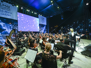 Limak Filarmoni Orkestrası, Bodrum'da müzik ziyafeti verdi