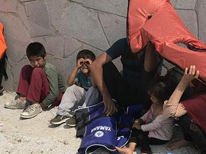 Çanakkale'de 101 kaçak göçmen yakalandı