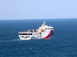 MTA ORUC REIS, Karadeniz'de kömür arıyor