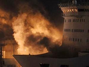 Eleftherios Venizelos'taki yangın hala söndürülemedi