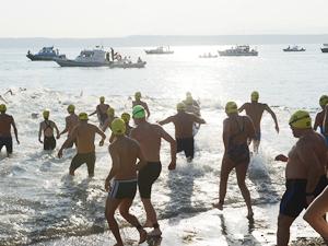 Çanakkale Boğazı Yüzme Yarışması sona erdi