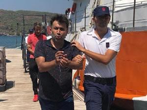 Fethiye'de 34 kaçak göçmen yakalandı