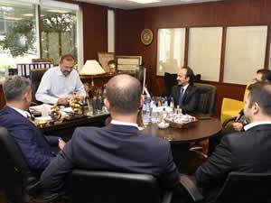 ODEMED Yönetimi, Tamer Kıran'ı ziyaret etti