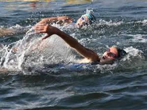 16. Eğirdir Triatlonu, 467 sporcunun katılımıyla başladı