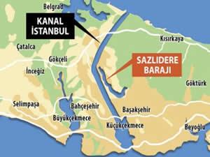 Kanal İstanbul Projesi için 18 milyon lira ödenek ayrıldı