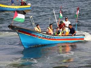 İsrail'in ablukasını kırmak için onlarca tekne denize açıldı