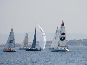 Arkas Aegean Link Regatta'da birinci 'Arnes'
