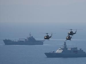 Türkiye Akdeniz'de savaş gemilerinin sayısını artırdı!