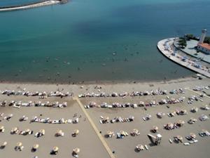 Samsun'da mavi bayraklı plajların sayısı artıyor