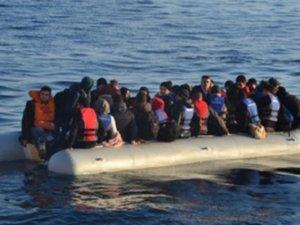 Didim'de 29 kaçak göçmen yakalandı