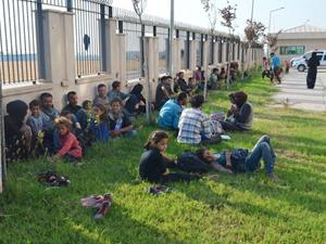 Hatay'da 32 kaçak göçmen yakalandı