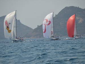 J70 Türkiye Şampiyonası'nda yelkenler, D-Marin Turgutreis'te açıldı