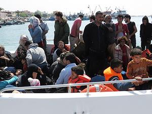 Çanakkale'de 87 kaçak göçmen yakalandı