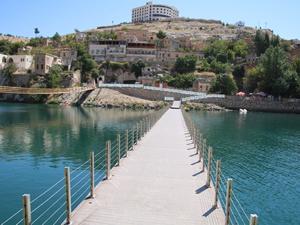Turizm merkezi Halfeti'ye büyük yatırım yapıldı