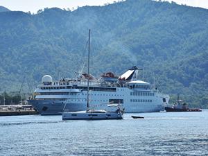 M/S Orient Queen, Marmaris'e yanaştı