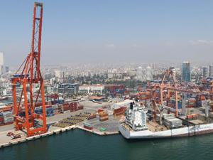 Mersin Limanı'nda yük trafiği 2.9 milyon tona yükseldi