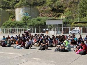 Fethiye'de 73 kaçak göçmen yakalandı