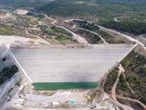 Tekke Barajı'nda çalışmalar devam ediyor