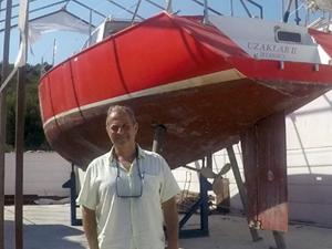 Antarktika'ya ulaşan ilk Türk teknesi Sığacık'ta