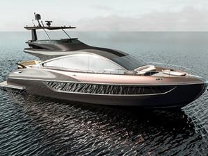 Lexus, LY 650 lüks yatını denize indiriyor