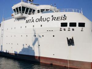 MTA ORUC REIS, İstanbul Limanı'na yanaştı