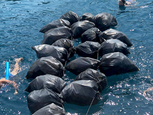 Fethiye'deki ada ve koylarda çevre temizliği yapıldı