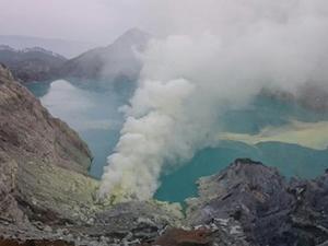 İwo Jima'da volkanik patlama meydana geldi