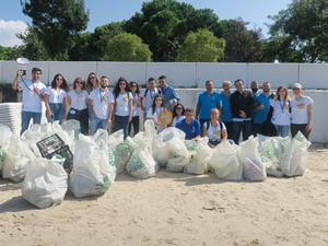 Deniz gönüllüleri, tek kullanımlık plastiğe dur dedi!