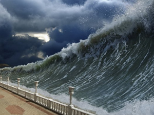 Tsunami dalgaları 5 dakika içerisinde gelebilir