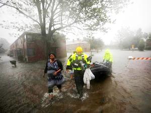Florence Kasırgası'nda 4 kişi hayatını kaybetti