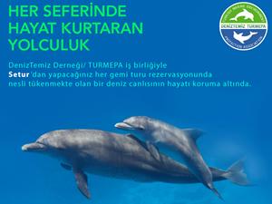 Setur ve TURMEPA'nın iş birliği ile deniz canlıları koruma altında