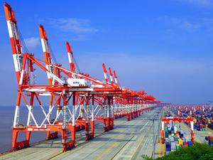 Shanghai Limanı'nın konteyner kapasitesi 40 milyon TEU'yu buldu