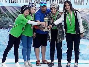 Yahyalı Belediyesi Rafting Takımı, Türkiye üçüncüsü oldu