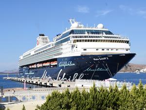 M/S Mein Schiff 2, Bodrum'a 2 bin 33 turist getirdi