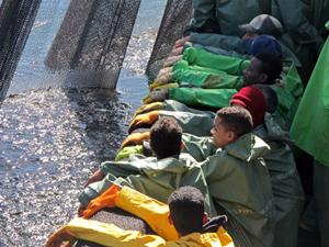 Türk balıkçılar, Moritanya'da balık avlıyor