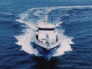 Estonya yeni hibrid devriye gemisini teslim aldı