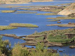 Adıyaman'da yüzen adaların sayısı arttı