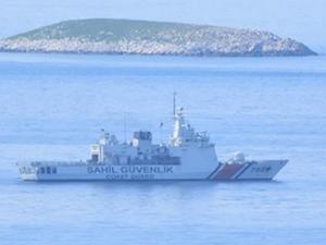 Kuzey Kıbrıs karasularına giren gemiye el konuldu