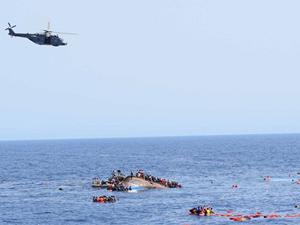 Lübnan'da kaçak göçmenleri taşıyan tekne battı!