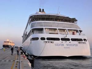 Kuşadası Egeports Limanı'na kruvaziyer akını sürüyor