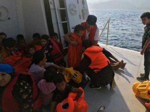 46 mülteci son anda kurtarıldı