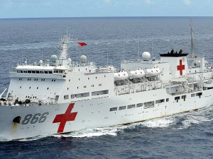 Yüzen hastane şifa dağıtacak